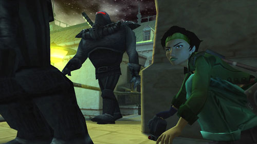 Screen shot of Jade from Beyond Good and Evil
