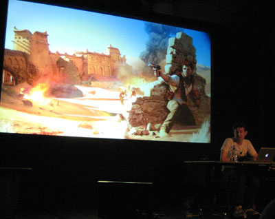 Richard Lemarchand presents Uncharted3 at GameCity