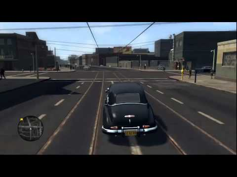 LA Noire screen with radar