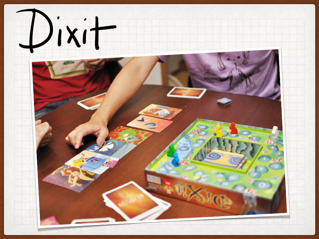 Dixit being played