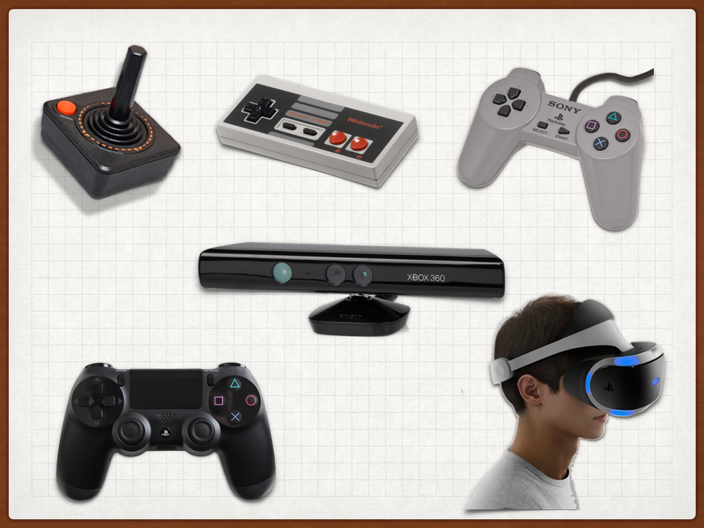 Controllers evolve